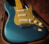 Nash S-57 Guitar, Turquoise