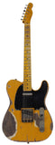 Nash T-52 Guitar, Butterscotch Blonde, Extra Heavy Relic