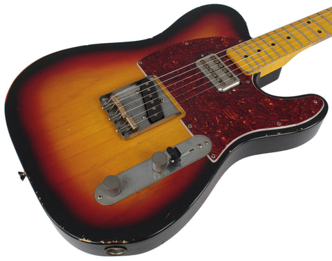 Nash T-57 Guitar, 3-Tone Sunburst, Humbucker