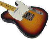 Nash T-57 Guitar, 3-Tone Sunburst, Light Aging
