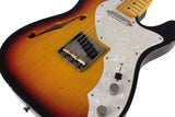 Nash T-69 Thinline Guitar, 3 Tone Sunburst