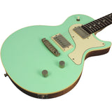 Nik Huber Krautster II Guitar - Surf Green - Cream