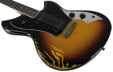 Novo Serus JS Guitar, Bound Neck, TV Burst