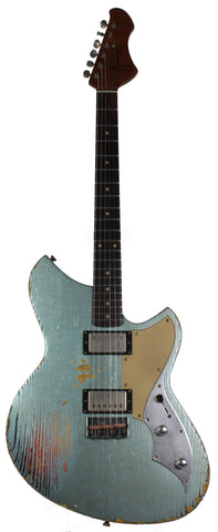 Novo Serus TC Guitar, Ice Blue Metallic over 3TS