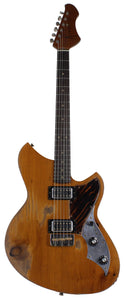 Novo Serus TC Guitar, Natural Amber, Firestripe