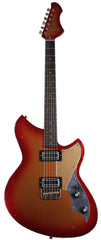 Novo Serus TC Guitar, Candy Apple Red Burst, Gold Plexi