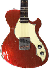 Novo Solus F1 Guitar, Aged Candy Apple Red