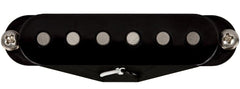 Lollar Strat Blonde Pickup, Bridge, Black