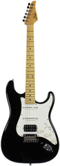 Suhr Classic Pro HSS Guitar - Black, Maple