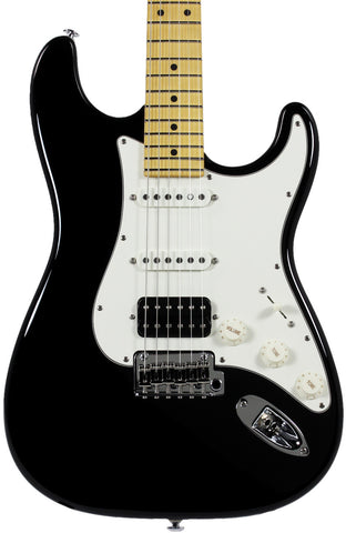 . Suhr Classic Pro HSS Guitar - Maple, Black