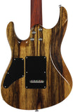 . Suhr Modern Waterfall Burl Maple HSH - Trans Green