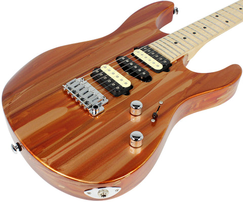 Suhr Pro M4 Guitar - Root Beer Drip