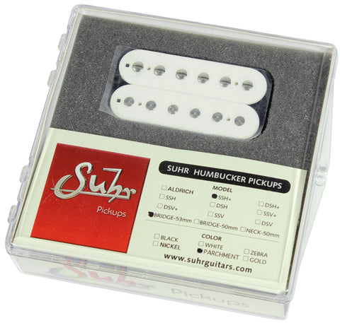 Suhr SSH+ Bridge Pickup, Parchment, 53mm