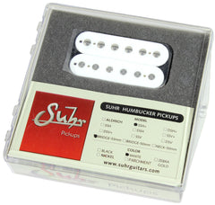 Suhr SSH+ Bridge Pickup, White, 53mm