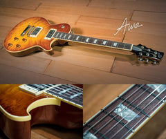 Suhr Aura 20th Anniversary Limited Guitar, Tea Burst