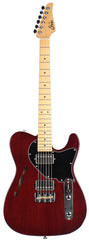 Suhr Alt T Guitar, Maple, Trans Brown