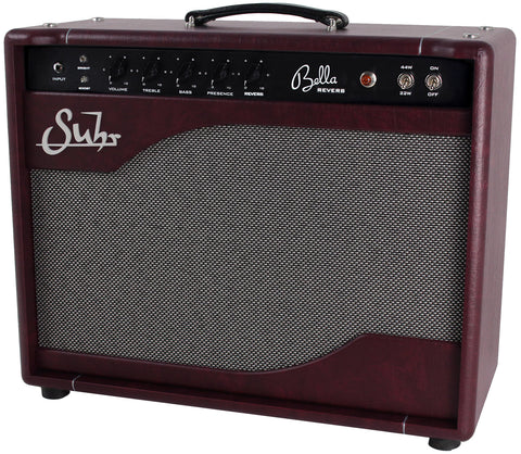 Suhr Bella Reverb LE Handwired 1x12 Combo Amp - Wine Taurus