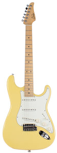 Suhr Classic S Guitar, Vintage Yellow, Maple