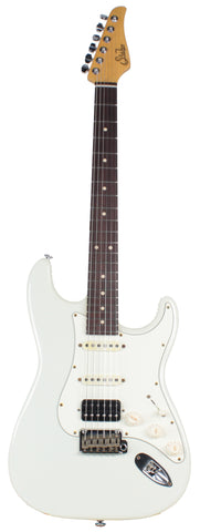Suhr Classic Antique Guitar, Olympic White, Rosewood, HSS