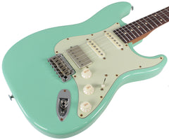 Suhr Classic Antique Roasted Guitar - Surf Green, Rosewood, HSS