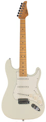 Suhr Classic S Antique Guitar, Olympic White, Maple