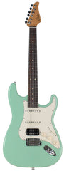 Suhr Classic S Antique Guitar, Surf Green, Rosewood, HSS