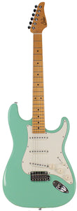 Suhr Classic S Guitar, Surf Green, Maple