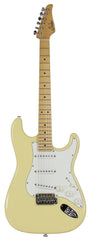Suhr Classic S Antique Guitar, Vintage Yellow, Maple