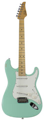 Suhr Classic S Antique Guitar, Surf Green, Maple