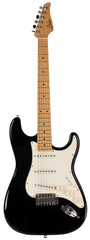 Suhr Classic S Guitar, Black, Maple