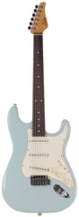 Suhr Classic S Antique Guitar, Sonic Blue, Rosewood