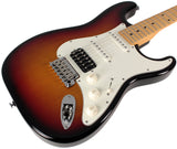 Suhr Classic S HSS Guitar, 3 Tone Burst, Maple