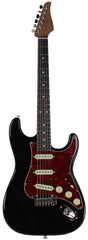 Suhr Classic S Roasted Select Guitar, Black, Rosewood