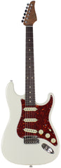 Suhr Classic S Roasted Select Guitar, Olympic White, Rosewood