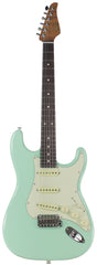 Suhr Classic S Roasted Select Guitar, Surf Green, Rosewood