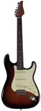 Suhr Classic S Roasted Select Guitar, 3-Tone Burst, Rosewood