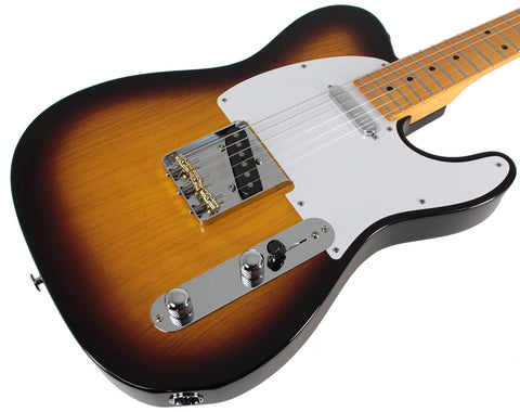 Suhr Classic T Antique Guitar, 2-Tone Tobacco Burst