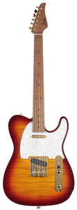 Suhr Classic T Deluxe Guitar, Limited Edition, Aged Cherry Burst
