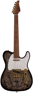 Suhr Classic T Deluxe Guitar, Limited Edition, Charcoal Burst