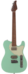 Suhr Classic T HH Roasted Select Guitar, Maple, Surf Green