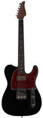 Suhr Classic T HS Roasted Select Guitar, Flamed, Rosewood, Black