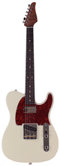 Suhr Classic T HS Roasted Select Guitar, Flamed, Rosewood, Olympic White