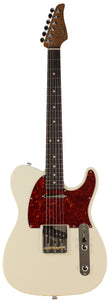 Suhr Classic T Roasted Select Guitar, Flamed, Rosewood, Olympic White