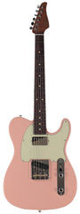 Suhr Classic T HS Roasted Select Guitar, Flamed, Rosewood, Shell Pink