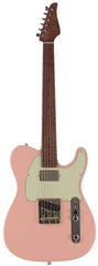 Suhr Classic T HS Roasted Select Guitar, Flamed, Maple, Shell Pink