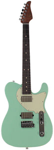 Suhr Classic T HH Roasted Select Guitar, Flamed, Rosewood, Surf Green