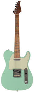 Suhr Classic T Roasted Select Guitar, Maple, Surf Green