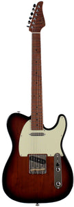 Suhr Classic T Roasted Select Guitar, Maple, 3-Tone Burst