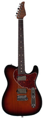 Suhr Classic T HH Roasted Select Guitar, Flamed, Rosewood, 3-Tone Burst