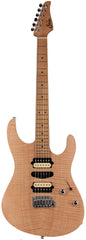 Suhr Limited Modern Satin Flame Guitar, Natural, Hardshell Case